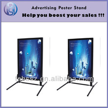Double sided aluminum frame display stand H21