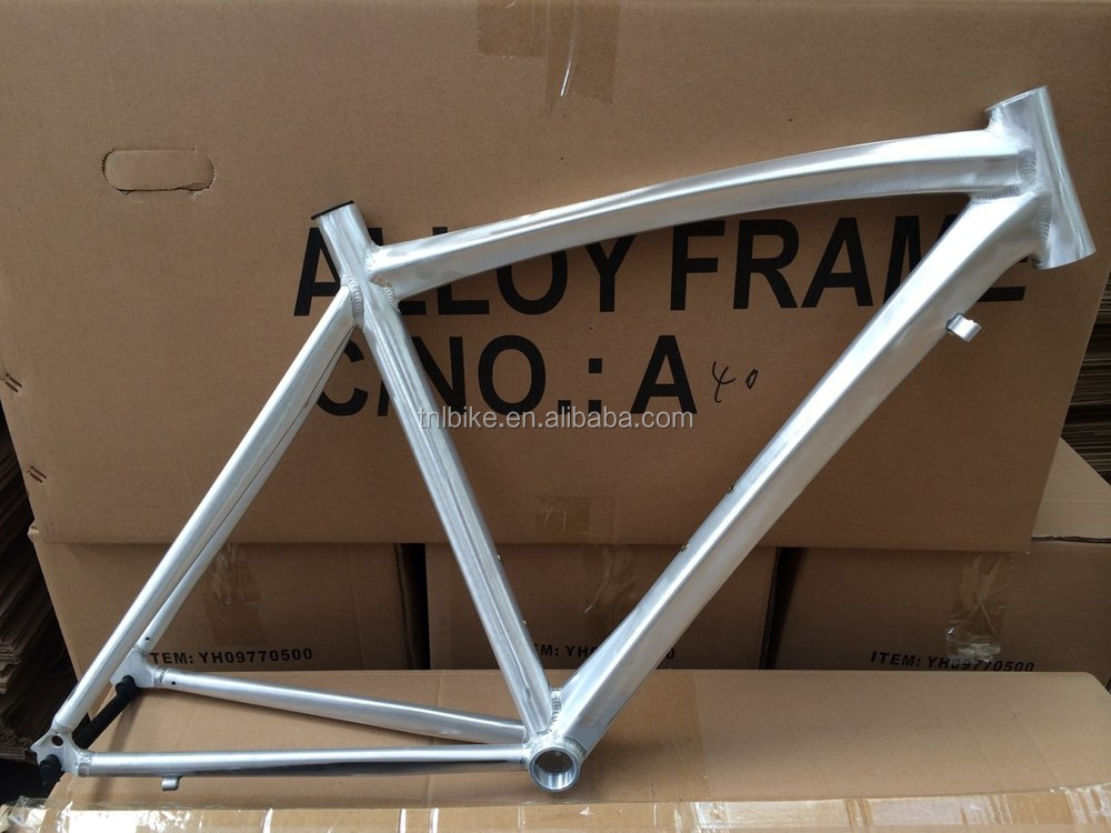 Chinese factory CR-MO Aluminum alloy 6061 no decals no name bicycle frame sale