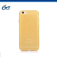 Wholesale ultra thin 0.3mm tpu phone cases for iphone 6 multi color soft cover for iphone 6