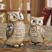 Top Quality Scandinavian Vintage Owl Theme Home Decor Arts Craft