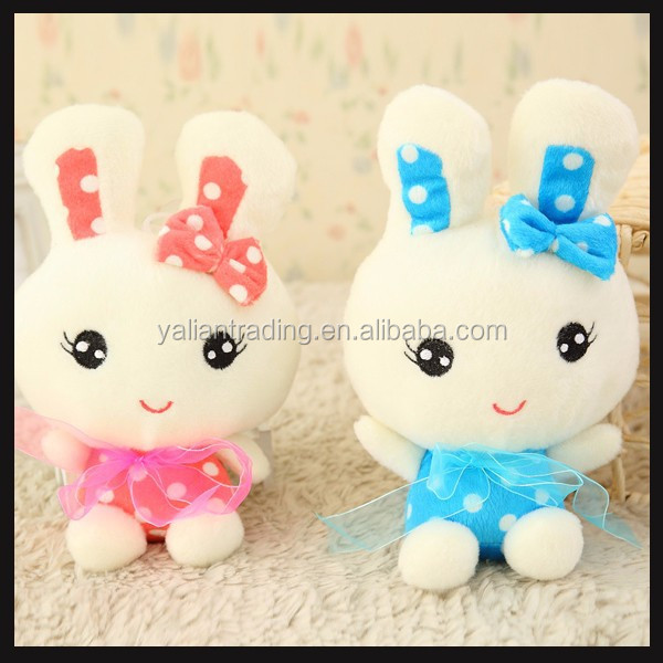 cute rabbit small plush toy for claw machines