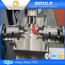 pvc drainage pipe mould /90 elbow fitting pipe mould /collapsible core fitting mould