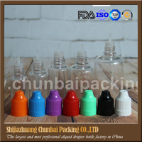 New small plastic squeeze bottles for E liquid have mass stock