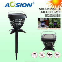 indoor And Outdoor Solar Powered Mosquito Killer With UV Lamp