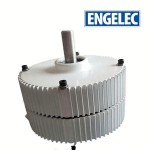 Low RPM Axial flux coreless 10kw axial flux permanent magnet generator