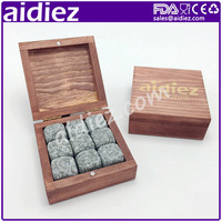 Wine stones made of natural stones