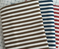 High quality stripe style pure cotton canvas fabric