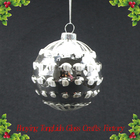 Hot sell decorative glass christmas ball baubles