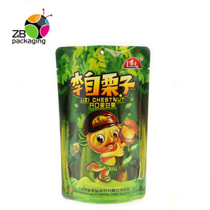 Custom Printed Stand up Ziplock Pouch Snack Food Packaging Potato Chip Bags