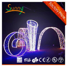 led arch light inflatable outdoor christmas arch (show, events, ANKA) Houses Decorated Christmas Lightsinflatable Star