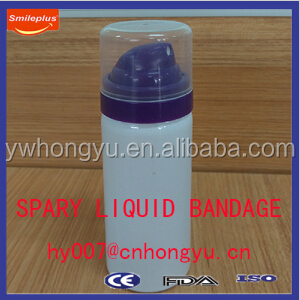 Hot sale New Spray Liquid Bandage Plaster for Special Part Wound