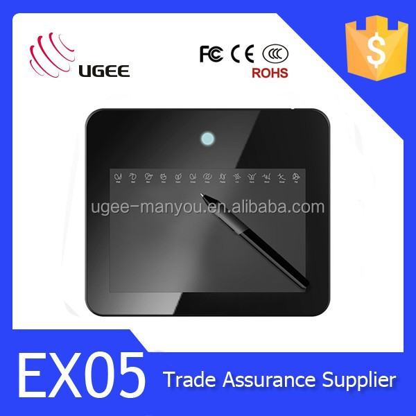 Practical Ugee Digital Drawing Board EX05 8x5 inches 2048 levels Painting Tablet