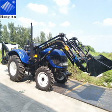 WOW!!! Hot sale 55hp 4wd wheeled small Chinese tractors