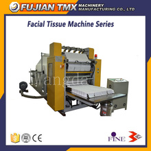 High speed folded handkerchief tissue processing machine mini face paper machine
