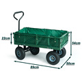 Foldingutility wagon/ steel mesh wagon/heavy-duty wagon