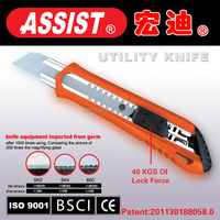 2015 Hand tools office pocket utility knife auto retract utility knife