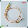 Gas oven thermocouple for gas-safety components