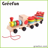 Colorful Mini Toy Train Montessori Materials In China Wood Train Toy For Kids 2016 New Wood Toy