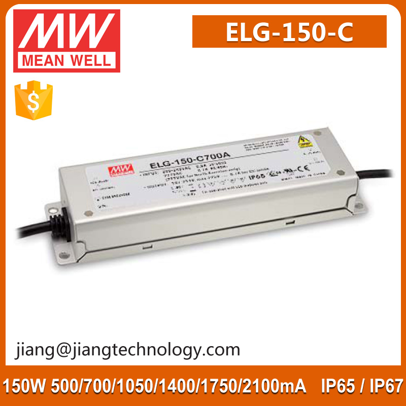 Meanwell ELG-150-C2100D 150W 2100mA LED Tape Light Transformer