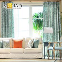 High-end Classic Ready Made Printed Zebra Drapes And Curtains Design
