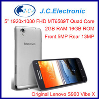 "Original Lenovo Cell Phone S960 Vibe X with MTK6589 1.5GHz Quad Core 5"" IPS Tech HD Screen 1920x1080 Android 4.2 2G RAM 16GB Rom"