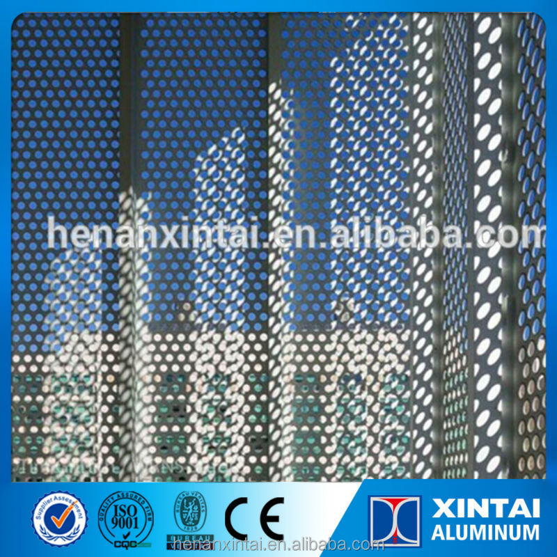 lightweight exterior wall panels/ decorative metal perforated sheets /best seller