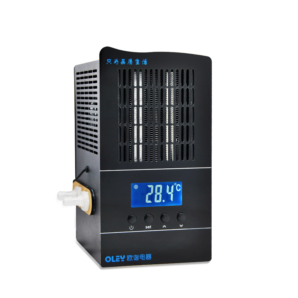 RINGDER LS-02 Digital Chiller for Water Cooling in Plastic Molding Aquarium <strong>Heat</strong>/Cool