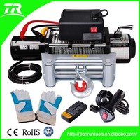 12v 10000lb 4x4 heavy duty electric truck winch