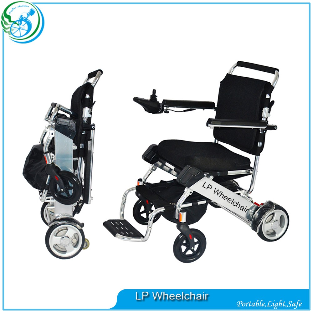 Small Lightweight Folding Electric Medical Wheelchair