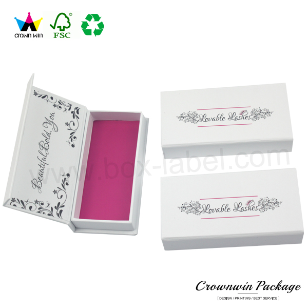 Small High Quality Retail Printed Eyelash Packaging Box Custom