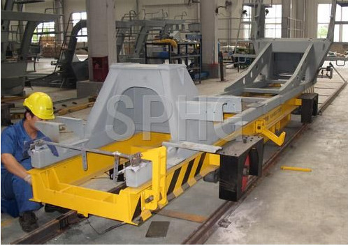 turning over machine/ electric transport flat carriage