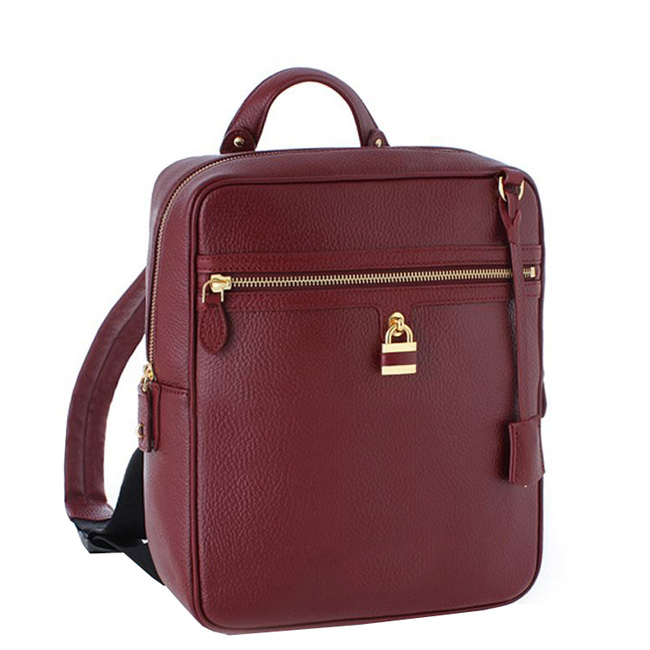 China Supplier Online Shopping Leather Laptop Backpack Bag High Quality School Backpack