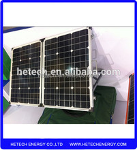 China hot selling foldable kits solar 120w folding solar panel with fast shipment stock