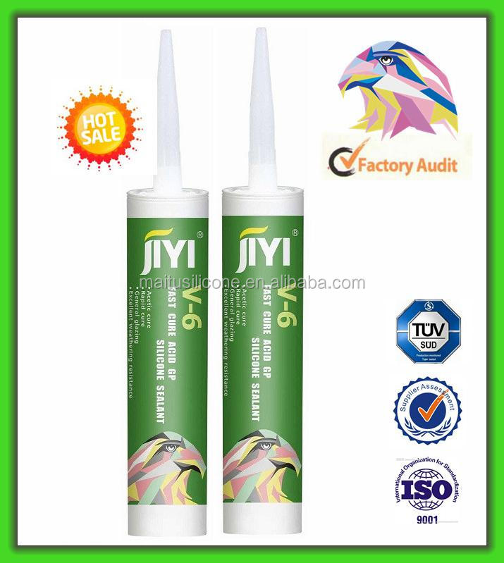 General Purpose Silicone Glazing & Building Sealant For Aluminum Alloy