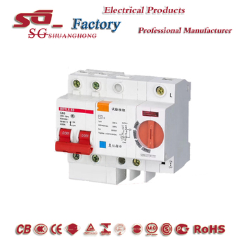 adjustable differential circuit breaker RCBO