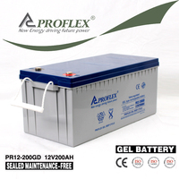 PROFLEX Lead Acid Maintenance Free 12V 200Ah GEL Deep Cycle Battery