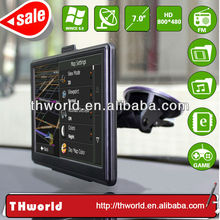 2014 Wholesale Checkout 7 inch gps world map with 800MHz CPU 4GB Memory only $33
