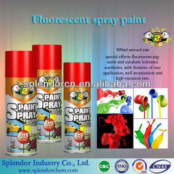 Fluorescent Wall Paint/Tank Fluorescent Spray Paint