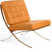 Replica modern furniture barcelona chair bedroom furniture french lounge chair