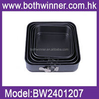 square cake pans ,RU074 veiner silicone mould