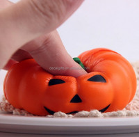 Funny halloween pumpkin squishy toys accessories halloween