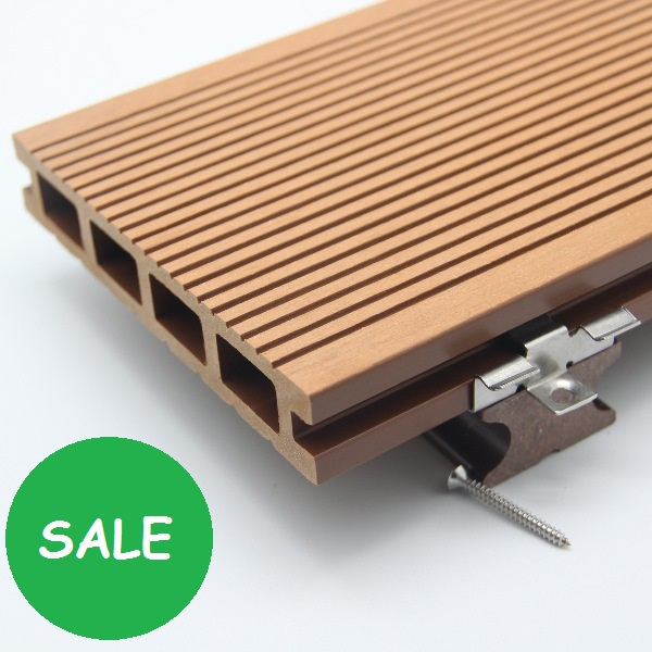 Factory Price Fire Resistant Wpc Hollow Decking Wpc