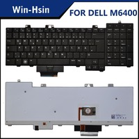 German laptop keyboard for dell precision m6500 m6400 backlit keyboard 0D113R NSK-DE201
