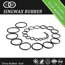 Hot sale Black silicone rubber o-ring