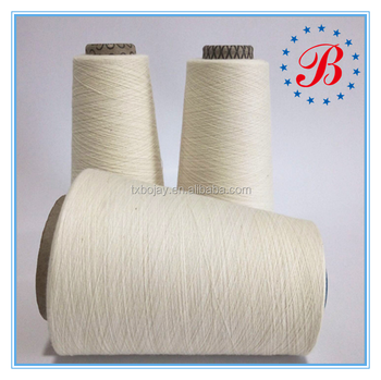 China supplier 100% Spun Silk Yarn Nm140/2 Raw White Ring Spun Yarn General Grade Long Fiber for Knitting Good Clothes
