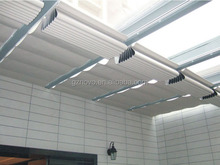 Unique twin wall polycarbonate sheet for skylight for skylight window curtains for Motorized Skylight blinds from NOVO factory