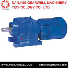 R/RF17 sew type helical gearbox with 0.18-0.75kw motor