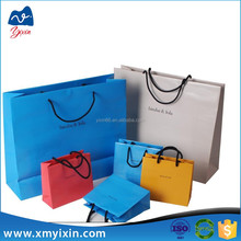 Tip fashion popular silicone shopping bag luxury paper bag