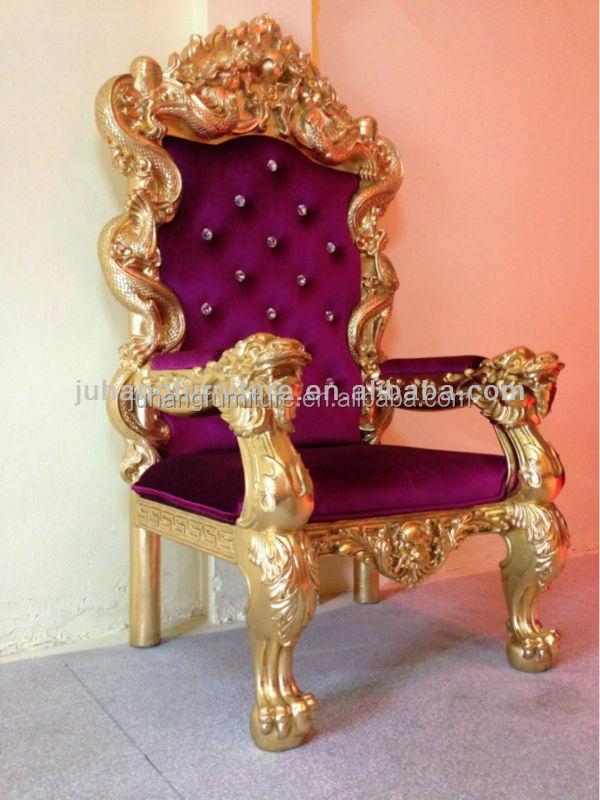 Luxury High Back King Throne Chair   Buy Luxury King Throne Chair,Golden King  Chair,Wedding King Chair Product On Alibaba.com