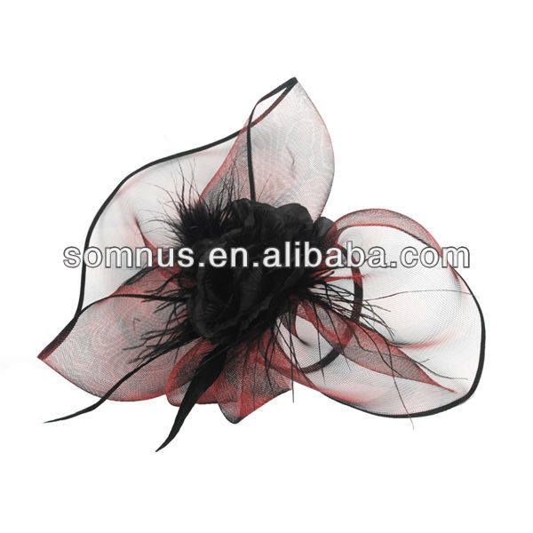 Somnus Fashion Feather Hair Accessory Wholesale Bridal Hair Accessories SM03025